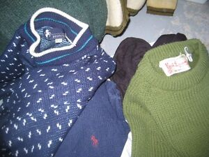 5 Vintage SWEATERS-All $30