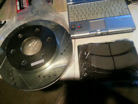 Front Rotors and pads - GM full size truck