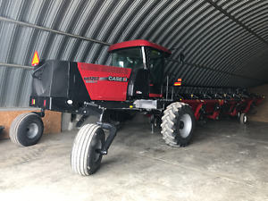 2014 Case IH 1203 Series II Swather -New Style Header, Low Hours