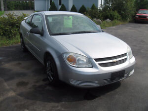2005 Chev Cobalt. New brakes. 5 SPD. safety. 1 yr Warranty