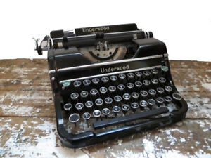 In search of older working Typewriter