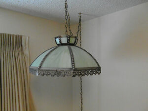 Tiffany Style Swag Lamp