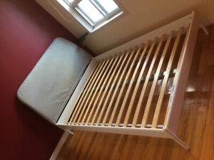 Ikea full size bed frame $80 – excellent condition