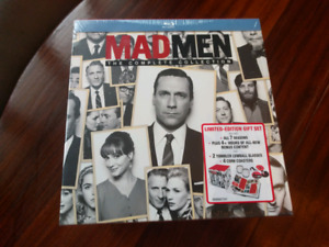 Mad Men Limited Edition Blue Ray box set.