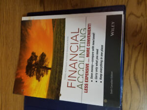 Financial Accounting 6th Canadian Edition Binder Version