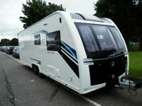 Lunar Delta RI Caravan, 4 berth, French Island Bed Caravan for sale