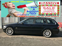2001 BMW 330 3.0i AUTO SE TOURING ESTATE SPORTS 230 BHP + EXCELLENT CONDITION