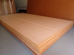 "3/4"" & 1/4"" Hickory Wood Sheets"