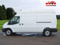 2016 FORD TRANSIT T350 125ps Long Wheel Base RWD High Roof Panel Van DIESEL MAN