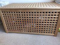 Lattice storage box