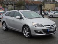 2014 Vauxhall Astra 1.7 CDTi ecoFLEX 16v SRi 5dr (start/stop)