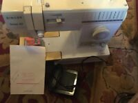 Singer Tempo 60 Sewing machine. Full working order & instruction book