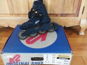 patins à roues alignées, grandeur 8 us