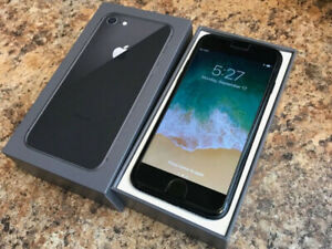 iPhone 8 Unlocked 64 GB Space Grey Brand New Condition
