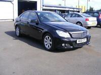 2012 MERCEDES BENZ C CLASS 2.1 C200 CDI BlueEFFICIENCY SE 4dr