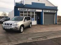 2008 Nissan X-Trail 2.0dCi 148 Aventura,86,000 MILES,BLACK LEATHER,FULL HISTORY