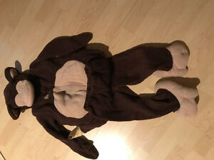 Costume Halloween singe 2t-3t