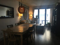 Beautiful Griffintown condo AVAILABLE IMMEDIATELY
