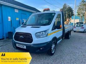 2018 Ford Transit 350 L5 LONG WHEELBASE FLATBED CHASSIS CAB Diesel Manual
