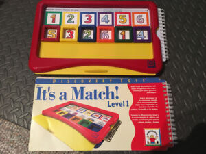 Discovery Toys - It's a Match! Learning Board