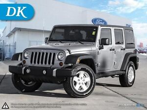 2013 Jeep Wrangler Unlimited Sport w/Power Conv. Pkg and Hardtop