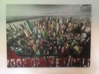 Large Box Canvas Picture New York / Manhattan