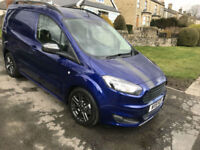 18 NEW FORD TRANSIT COURIER SPORT VAN DELIVERY MILES LOADS EXTRAS
