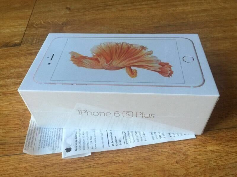 APPLE IPHONE 6s Plus ROSE GOLD UNLOCKED 16GB BRAND NEW BOXED APPLE WARRANTYshop receiptin Bradford, West YorkshireGumtree - APPLE IPHONE 6s Plus ROSE GOLD UNLOCKED 16GB BRAND NEW BOXED APPLE WARRANTY & shop receipt pick up fromBISMILLAH PHONES BD1 3JY BRADFORD TOWN CENTER 01274921308FREE SCREEN PROTECTOR TEMPERED GLASS OR COVER opening time MONDAY TO SATURDAY 9 30 till...
