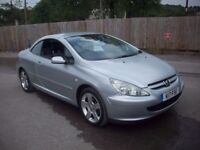 PEUGEOT 307 COUPE CABRIOLET (silver) 2005