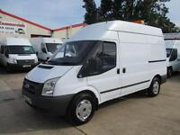 2008 FORD TRANSIT MWB HIGH ROOF WORKSHOP COMPRESSOR GENERATOR VAN ON BOARD POWER