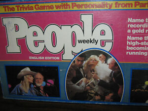 """Vintage """"People Weekly"""" Game-1984 Very Good Condition!"""