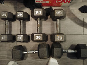Weights for lifting, get muscles!