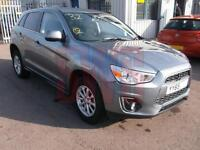 2015 Mitsubishi ASX ZC 1.6 2WD DAMAGED REPAIRABLE SALVAGE