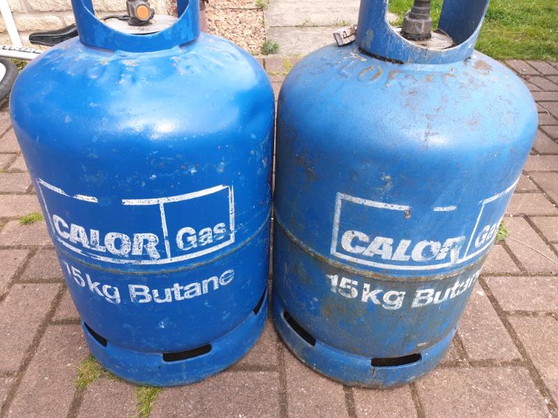 15kg CALOR BUTANE GAS BOTTLE - EMPTY | in Dundee | Gumtree