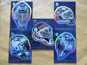 Hockey Cards - 1999-00 Pacific Dynagon Ice - Goalie Masks