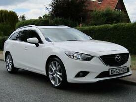 2014 Mazda 6 2.2d 150 BHP SPORT 5DR TURBO DIESEL ESTATE *£30 TAX *SAT NAV *F...