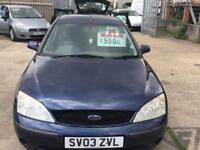 Ford Mondeo 1.8 2003.5MY LX