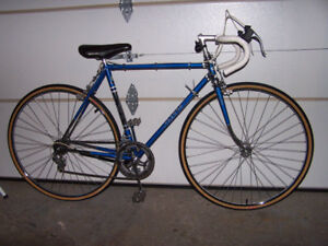 Blue Torpado 10-speed racer. Made in Italy.