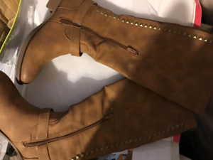 Designer boots from spain beautiful knee high size 8