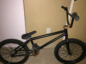 Professional gold & black BMX