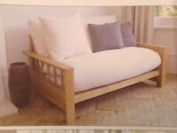 Futon 2 seater sofa bed