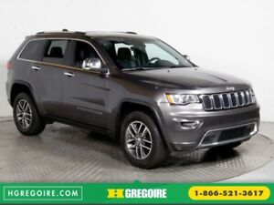 2017 Jeep Grand Cherokee Limited 4x4 TOIT CUIR BLUETOOTH
