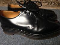 Dr Martin Shoes. Black. Size 4