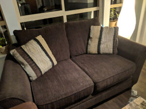 Cozy love seat for sale