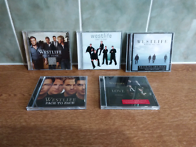 5 x WESTLIFE CD'S EXCELLENT CONDITION