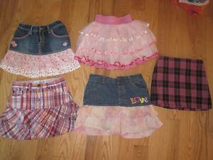 Girls Size 6 Skirts - LOT 1