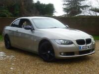 2007 BMW 320 2.0i SE Convertible Manual + SAT NAV + LEATHER + XENONS