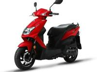SYM Orbit 125cc Twist & Go Learner Legal Automatic Scooter Moped For Sale