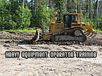 Heavy Equipment Operator Training - NEXT INTAKE MAY 1ST