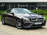 2020 Mercedes-Benz E Class E220d AMG Line 2dr 9G-Tronic Auto Cabriolet Diesel Au